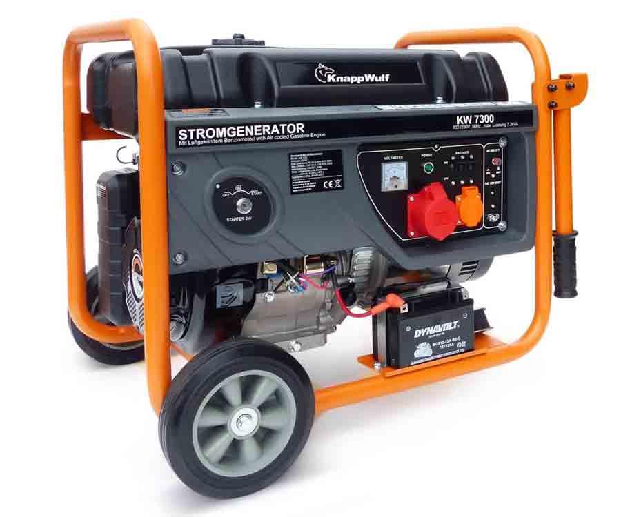 knappwulf diesel stromerzeuger kw5500 3 generator. Black Bedroom Furniture Sets. Home Design Ideas