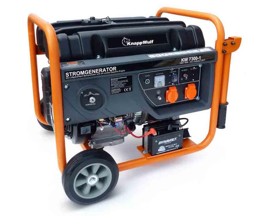 KnappWulf Stromgenerator 7300-1 Generator Stromerzeuger ...