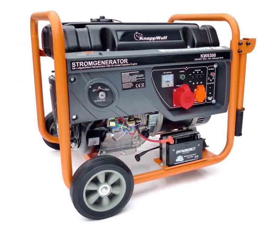KnappWulf Stromgenerator 8300 Generator Stromerzeuger ...