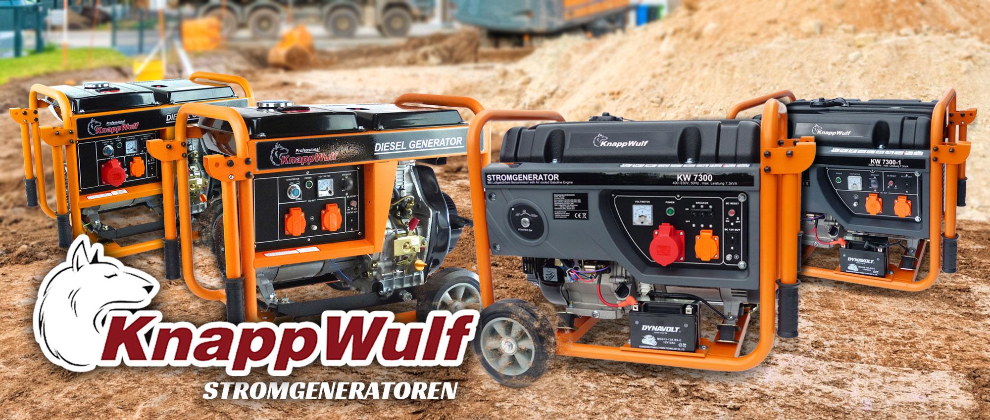 KnappWulf Diesel Stromerzeuger KW5500-3 Generator Notstromaggregat 3 ...