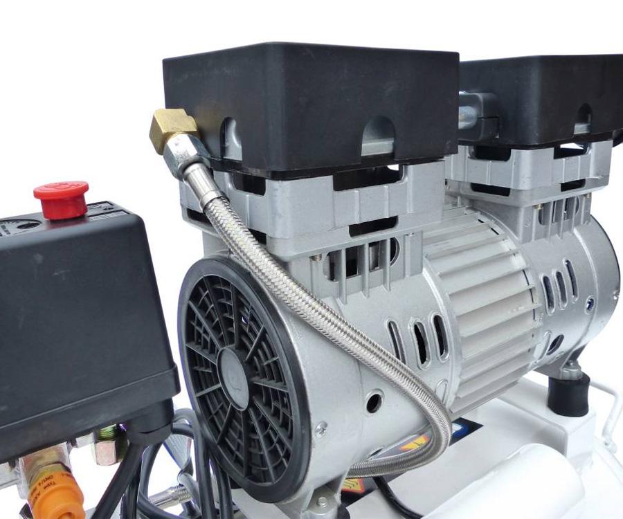 Compresseur D Air Silencieux : whisper kompressor compresseur d 39 air calme silencieux pneumatique 24l chaudi re ebay ~ Nature-et-papiers.com Idées de Décoration