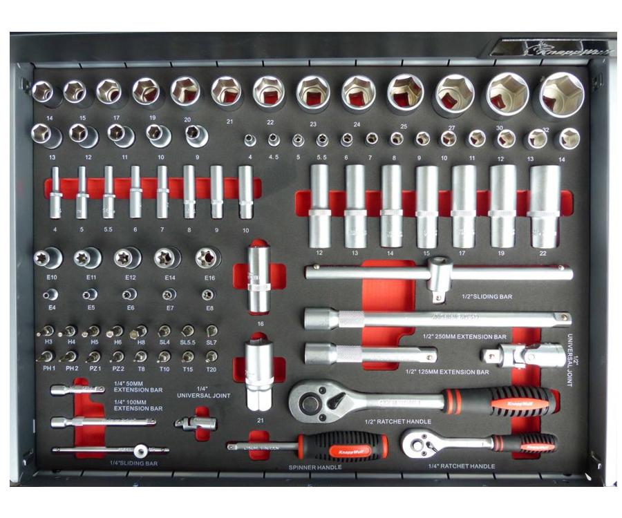 Chariot d/'atelier Premium XXL mobile Membré rempli Chariot à outils incl Outils